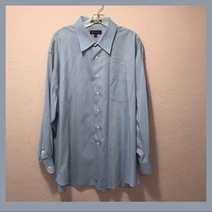 NWOT. Dress shirt. Fabric woven in Italy.
